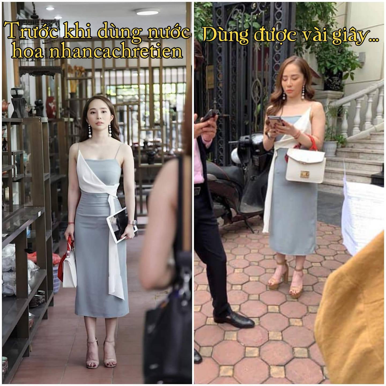 """Cùng 1 con người, cùng 1 chiếc váy, cớ sao Nhã được """"filter"""" và Nhã chụp lén lại khác nhau thế này"""