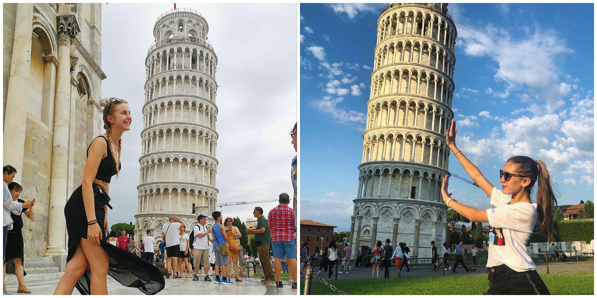 """Hóa ra tháp nghiêng Pisa - công trình huyền thoại của Ý vào mùa hè lại """"thẳng thớm"""" hơn"""