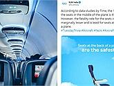 """Sốc: Hãng hàng không Hà Lan gây phẫn nộ khi """"lỡ miệng"""" công bố chỗ ngồi… """"nguy hiểm nhất"""" trên máy bay"""
