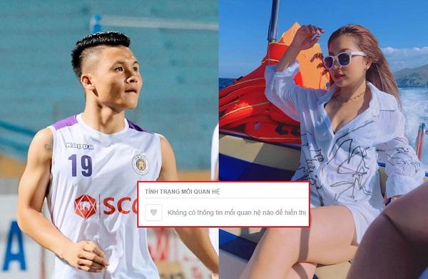 """Quang Hải, Nhật Lê bất ngờ xóa trạng thái """"hẹn hò"""" trên Facebook, chẳng lẽ lại """"đường ai nấy đi"""" sao?"""