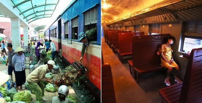 Cận cảnh đoàn tàu Hà Nội - Quảng Ninh chỉ chở đúng một hành khách
