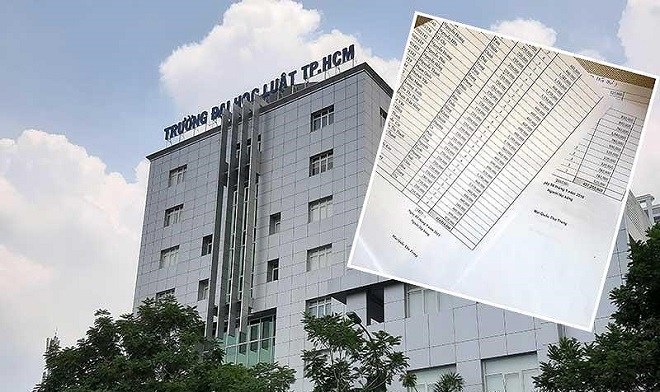 Điểm chuẩn trúng tuyển ĐH Luật TP HCM theo kết quả thi THPT Quốc gia từ 17 - 23 điểm