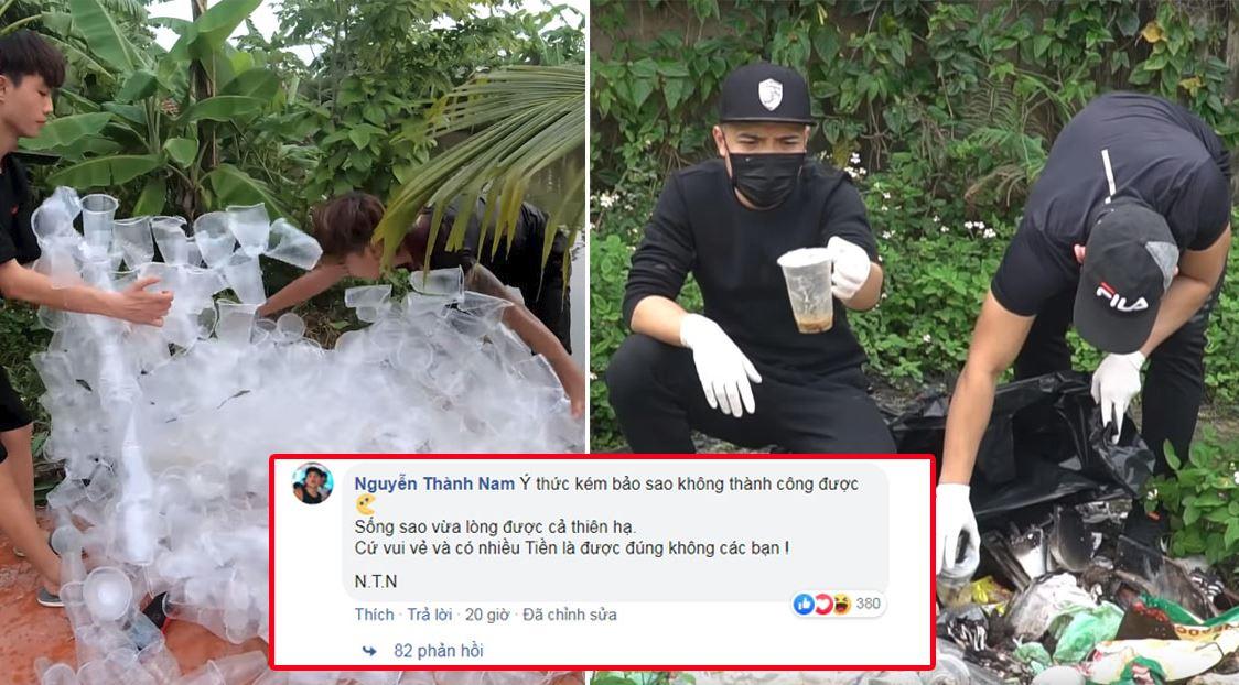 Bị chỉ trích vì phá hoại môi trường câu view, nam Youtuber đáp trả cực gắt cộng đồng mạng