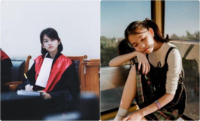 Nữ thẩm phán xinh đẹp 22 tuổi khiến cư dân mạng trầm trồ và khó hiểu: Nữ sinh trường luật đang thực hành thôi mà!