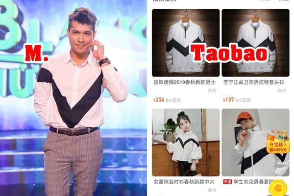 """Nhãn hàng lấy hình ảnh Trương Thế Vinh bị """"phản dame"""" khi phát hiện áo """"thiết kế"""" được bán trên Taobao từ năm ngoái"""