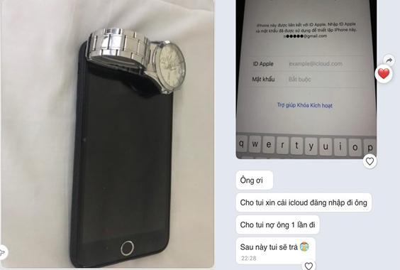Tên trộm mặt dày: Trộm xong nhắn tin cho chủ điện thoại khóc lóc xin mật khẩu icloud suốt 3 ngày để bán cho được giá