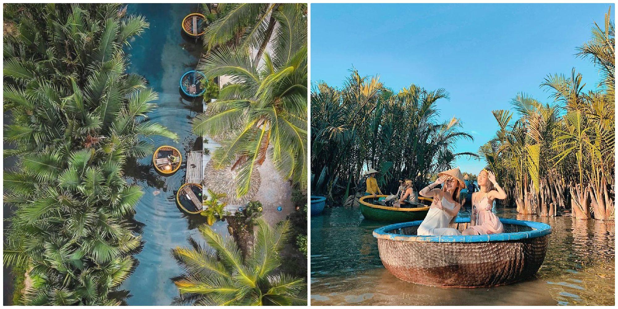 """Phố cổ đông quá thì mình xuôi dòng trải nghiệm """"miền Tây trong lòng Hội An"""" ở rừng dừa Bảy Mẫu"""