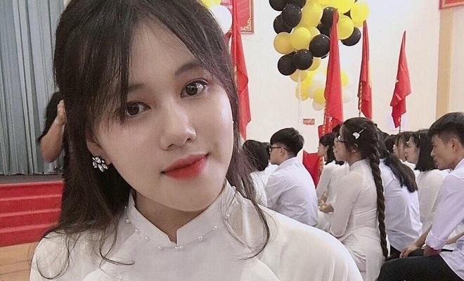 Nữ sinh trường chuyên Hùng Vương xinh xắn, đạt điểm tuyệt đối 2 môn Lịch sử và Địa lý