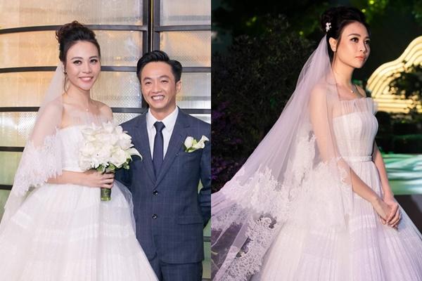 """CĐM cười chê cách Đàm Thu Trang làm tóc búi cao khiến Cường Đô La """"lọt thỏm"""" trong đám cưới"""