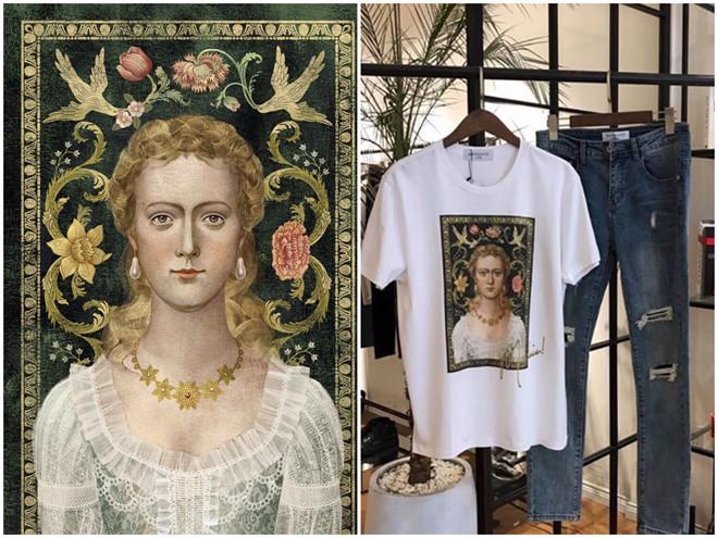 """Hết scandal """"đạo nhái"""" Taobao, thương hiệu thời trang vừa gây ồn ào với Trương Thế Vinh lại bị """"bóc mẽ"""" dùng tranh trái phép"""
