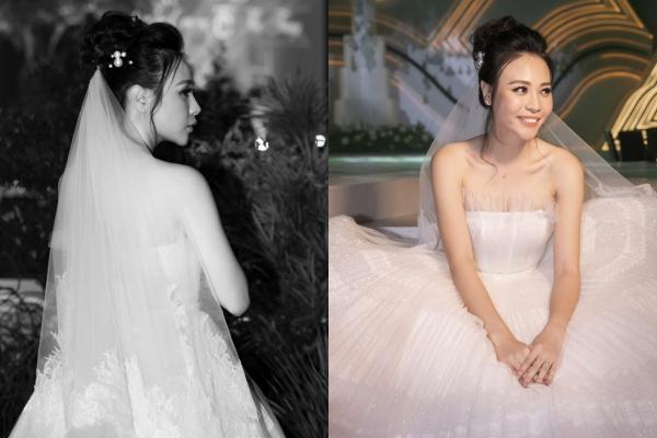 """Đám cưới thế kỉ vừa diễn ra, Đàm Thu Trang lại bất ngờ bị """"soi"""" chiếc cằm dài nhọn bất thường"""