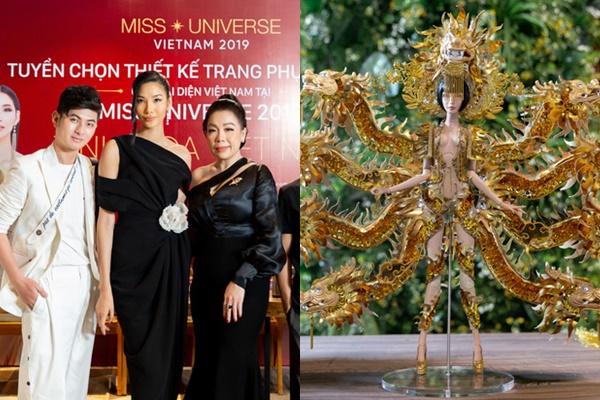 """Lộ diện top 3 Quốc phục được lựa chọn cho Hoàng Thùy dự thi Miss Universe 2019 nhưng tiếc không có bộ """"bàn thờ"""""""