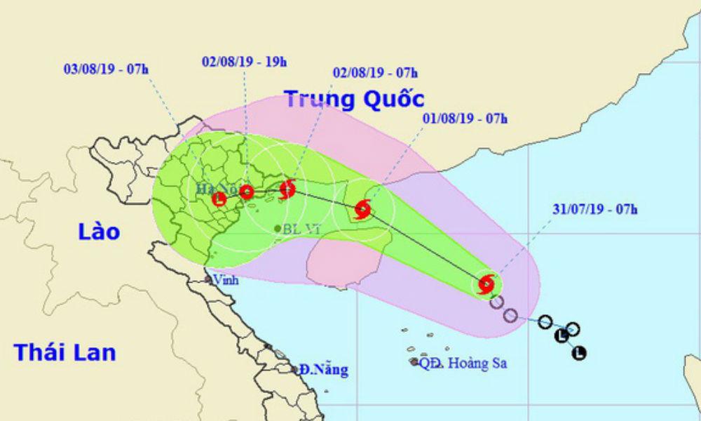 Áp thấp nhiệt đới mạnh thành bão số 3, dự báo đổ bộ Quảng Ninh - Nam Định