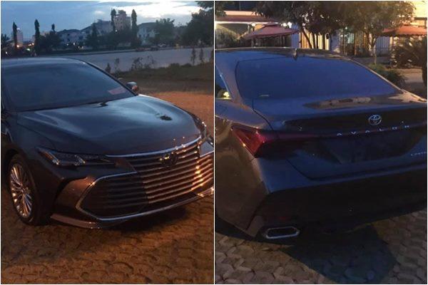 """Sendan """"khủng"""" của Toyota Avalon phiên bản Limted 2019 bất ngờ xuất hiện tại Việt Nam"""