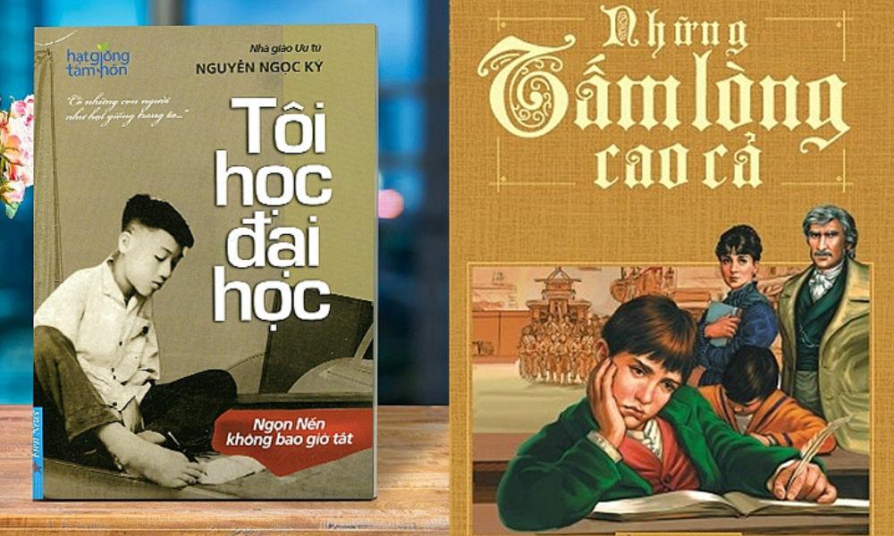 Những cuốn sách chứa đựng sự cao cả trân quý của nghề giáo