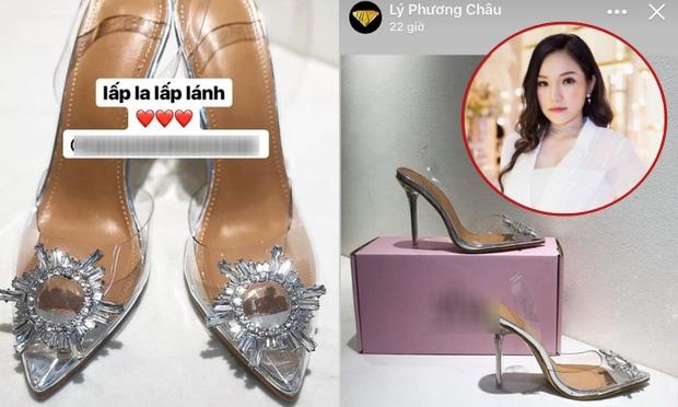 """Khoe đôi giày """"lấp lánh"""" mới mua, Lý Phương Châu bị bóc mẽ đã dùng hàng nhái còn giá rẻ giật mình"""