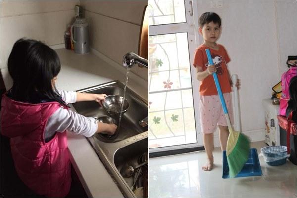 Khoa học chứng minh trẻ lớn lên có mức thu nhập cao, thành đạt hơn bạn bè nếu được làm việc nhà từ bé
