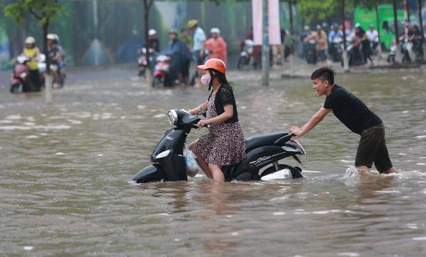 Hà Nội và miền Bắc tiếp tục mưa lớn trong 3 ngày tới