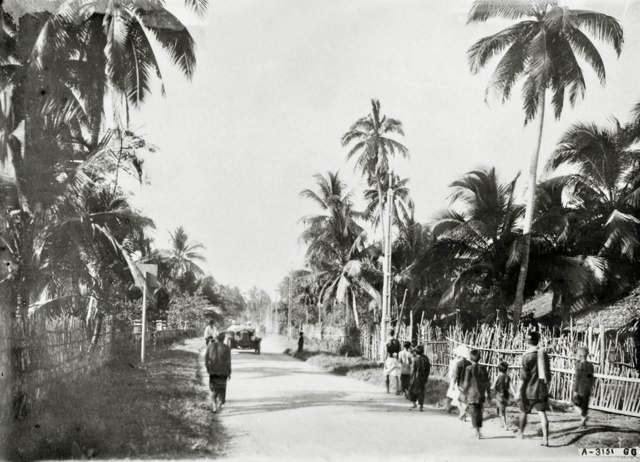 Những hình ảnh hiếm hoi về giao thông trên Quốc lộ 1 thập niên 1920