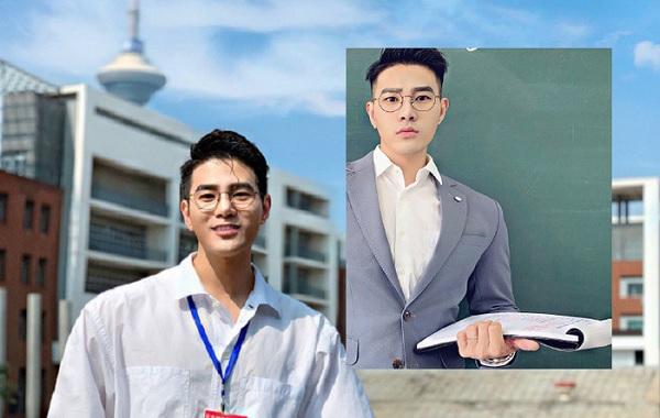 Đứng trên bục giảng nhưng quá đẹp trai khiến ai cũng tưởng đang đóng phim, anh chàng lên tiếng khẳng định mình là giáo viên 100%