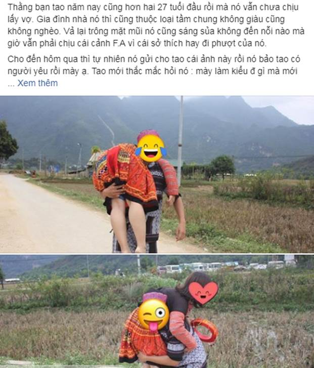 Nhờ chăm chỉ đi phượt, nam thanh niên bắt được cô vợ xinh đẹp ở tuổi 27