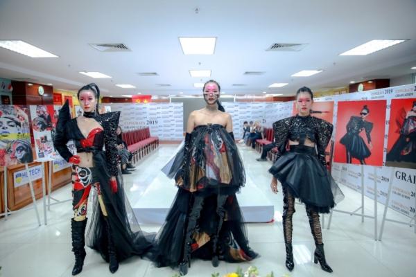 """Loạt mẫu thiết kế cực """"ngầu"""" của sinh viên ngành Thiết kế thời trang - HUTECH"""