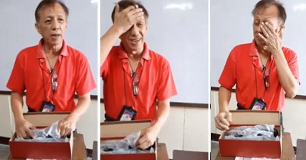 Thương thầy đi bộ 1 giờ tới được trường, học sinh Philippines tặng thầy giáo nghèo đôi giày da mới
