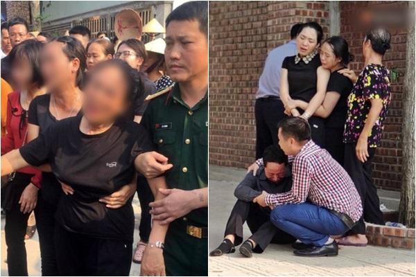 Bé trai 6 tuổi được đưa về nơi an nghỉ cuối cùng, bố mẹ gục ngã bên linh cữu con
