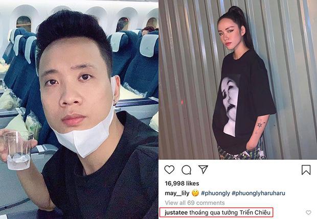 """Lâu lâu mới thấy Phương Ly make-up """"gắt"""", Justatee liền ví von với """"Triển Chiêu"""" khiến fans cười bò"""