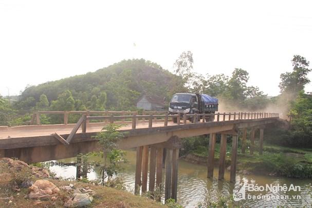 Vinh: Hai cầu 'tử thần' ở huyện Yên Thành được đầu tư hơn 35 tỷ đồng để thay thế