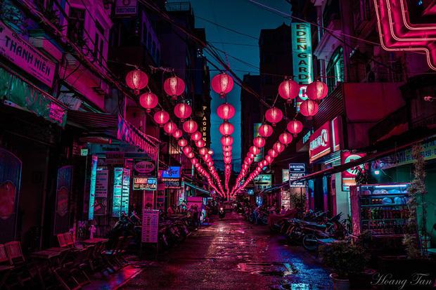 Trút lớp áo hào nhoáng, phố Tây Bùi Viện hiện lên như một Hongkong thu nhỏ khiến ai cũng trầm trồ