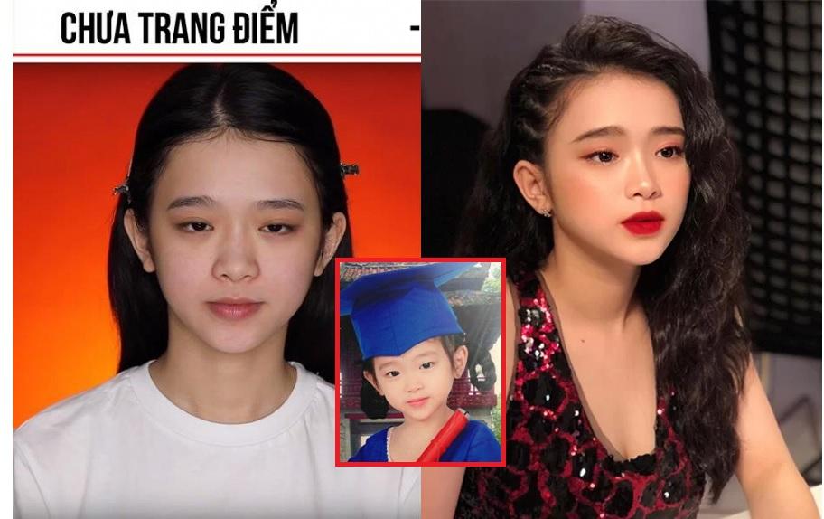 """Loạt ảnh mặt mộc chỉ muốn """"chôn vùi"""" của Linh Ka bất ngờ được dân mạng """"đào mộ"""" chê bai"""