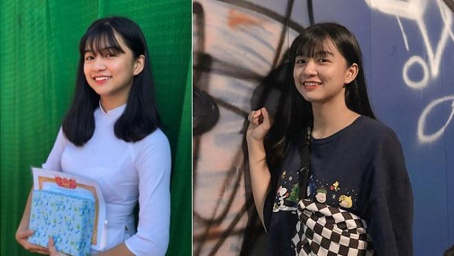 Nữ sinh 2k2 bất ngờ được hâm mộ nhờ loạt ảnh diện áo dài trắng xinh đẹp