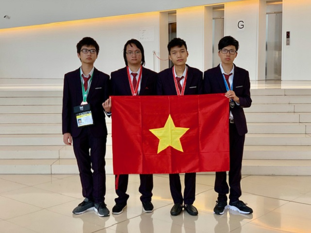 Việt Nam đứng thứ 4 tại Olympic Tin học quốc tế 2019, khép lại mùa Olympic khu vực và quốc tế thành công