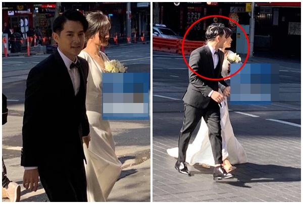 """Lộ ảnh cưới của Ông Cao Thắng - Đông Nhi, chú rể biểu cảm hớn hở như """"bắt được vàng"""""""