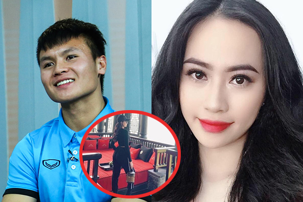 """Thảo Mi - """"Bạn gái tin đồn"""" Quang Hải check-in cùng nơi nam tiền vệ đang thi đấu, tình cảm tiến triển nhanh quá!"""