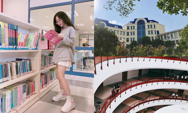"""Điểm danh 4 trường đại học tại Hà Nội đẹp đến nỗi trở thành studio """"siêu to khổng lồ"""" của sinh viên"""