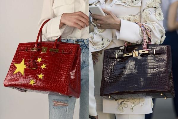 Giữa lúc Versacé và Coach đồng loạt bị dân Trung tẩy chay, Hermès bất ngờ tung ra mẫu túi Birkin cờ Trung Quốc giá gần 3 tỷ VNĐ