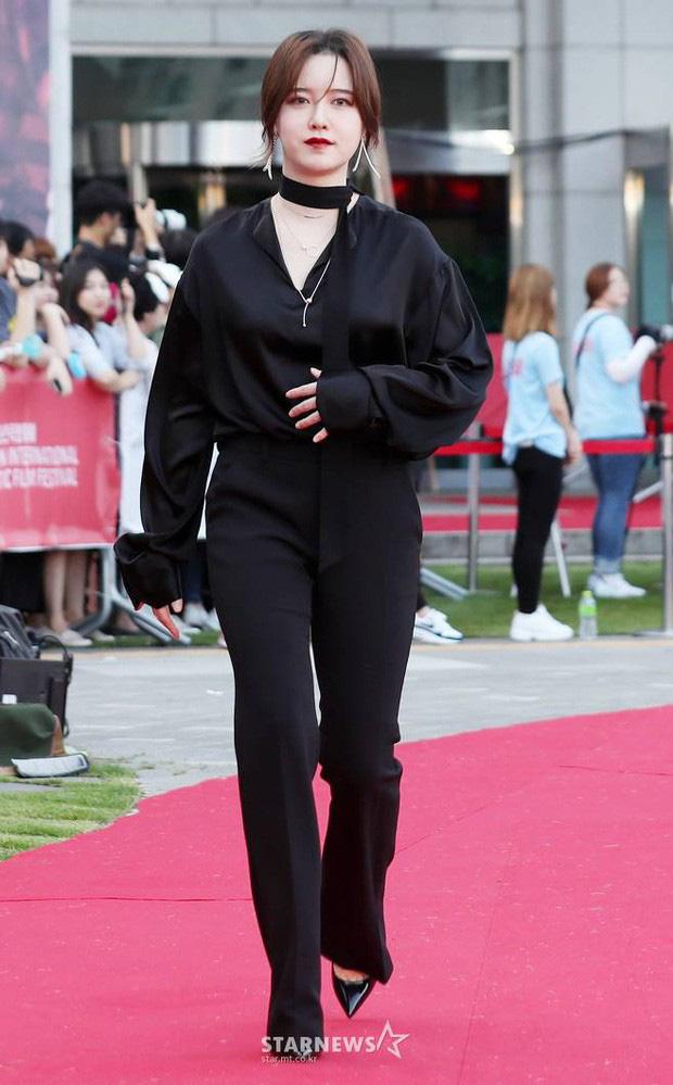 """Giữa ồn ào ly hôn, chiếc bụng """"lùm lùm"""" của nàng Cỏ Goo Hye Sun khiến fans hoang mang: Đang có bầu hay chỉ là béo lên?"""