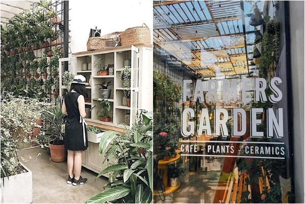 """Điên đảo """"quán cafe hữu cơ"""" xanh mượt độc nhất vô nhị ngay giữa lòng Sài Gòn"""