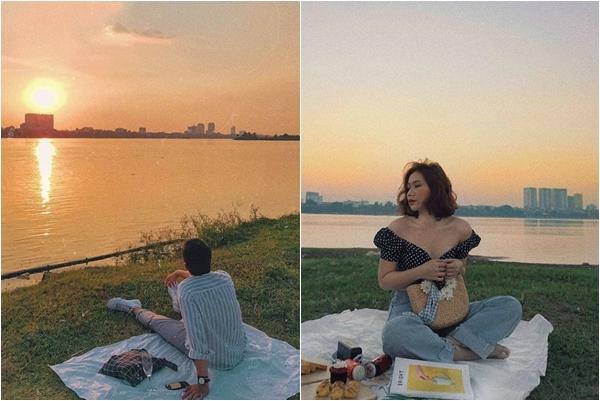 Ở Hà Nội bấy lâu bạn đã biết những tọa độ ngắm hoàng hôn đẹp ngây ngất này chưa?