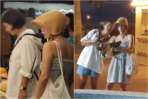 Hậu ly hôn kết thúc, Song Hye Kyo được bắt gặp đi chợ đêm, ăn mặc quyến rũ hơn xưa nhiều lần