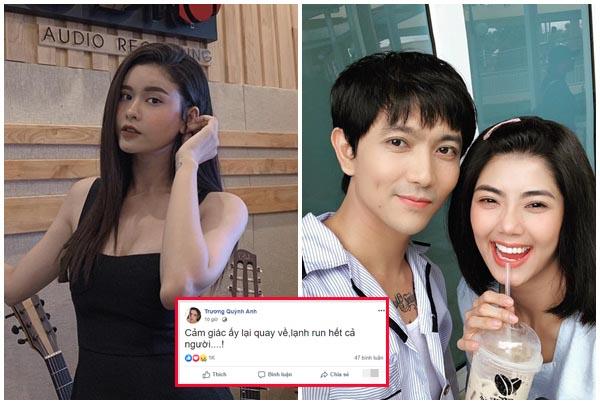 Trương Quỳnh Anh lại đăng status phá hoại khi Tim lộ ảnh hẹn hò người mới?