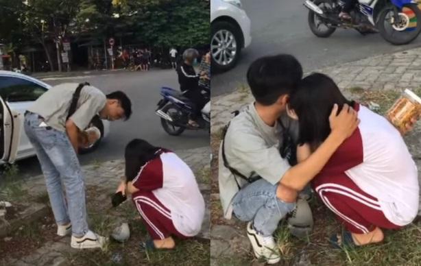"""Nam sinh lớp 12 bay ra Đà Nẵng để mang khô gà cho """"chị đẹp"""" khiến hội F.A phát hờn ghen tị"""