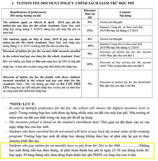 """Tự """"gắn mác quốc tế"""", trường học thông báo phụ huynh cho học sinh ở nhà nếu không nộp học phí đúng hạn"""