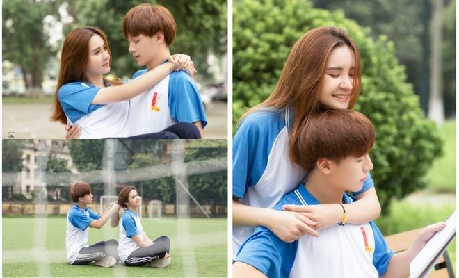 Bộ ảnh siêu ngọt ngào tại ĐH Bách khoa Hà Nội của cặp đôi bạn thân khiến dân tình xôn xao, tưởng là chuyện tình đẹp