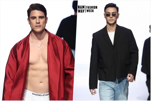 """Sau lùm xùm với Trương Thế Vinh, Maschio """"quay ngoắt"""" chọn Jay Quân làm vedette cho show mở màn tại Vietnam Runway Fashion Week"""