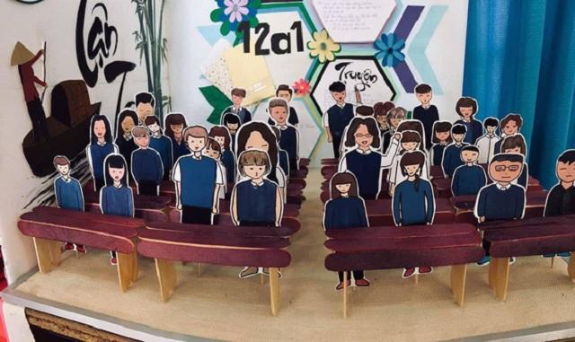 """Sơ đồ lớp học 3D siêu độc đáo gây sốt mạng xã hội: Quả là """"tài sản vô giá"""" của đời học sinh!"""