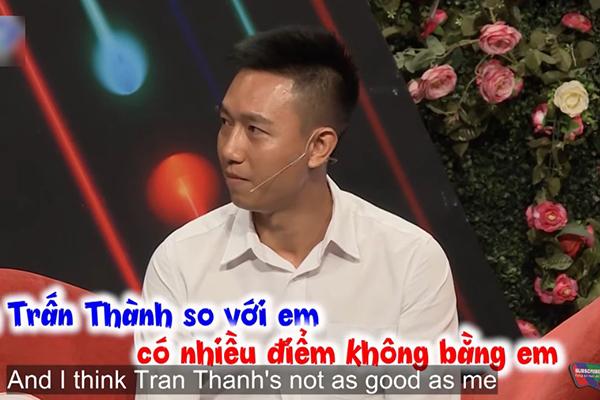"""""""Bạn muốn hẹn hò"""": Chàng trai tuyên bố Trấn Thành không bằng mình và muốn tìm người yêu giống Nhã Phương"""