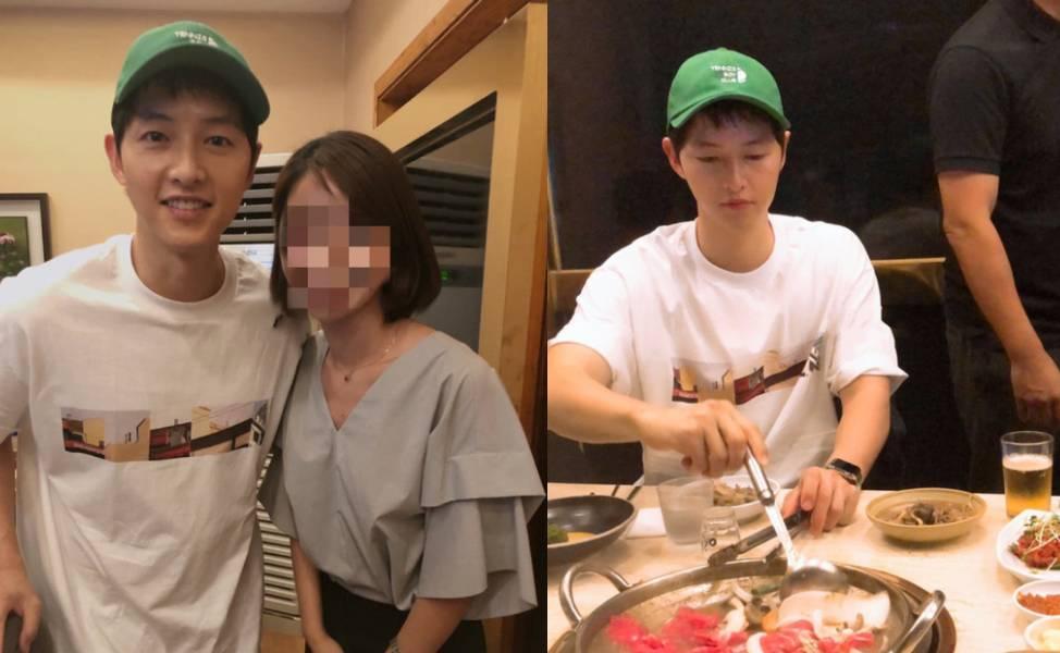 """Song Joong Ki xuất hiện tươi rói hậu ly hôn, vẫn ngầm kêu oan ám chỉ bị vợ """"cắm sừng""""?"""